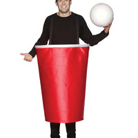 Beer Pong Cup Adult Costume – Spirit Halloween