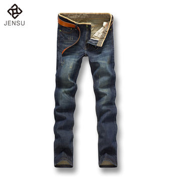 Free Shipping 2016 Men's Fashion Jeans Pants Plus Size Autumn Men Jeans Pants Clothes Best Quality Denim Pants Men