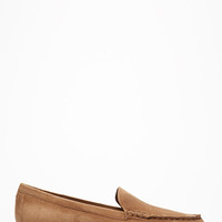 Classic Faux Suede Loafers