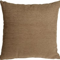 Pillow Decor - Arizona Chenille 20x20 Tan Throw Pillow