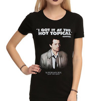 Supernatural Castiel Hot Topical Girls T-Shirt