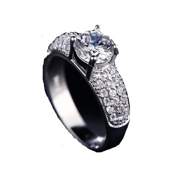 Austrian Crystal Charm Fancy Elegant rings Jewellery