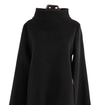 J. W. Anderson Black High Neck Wool Top