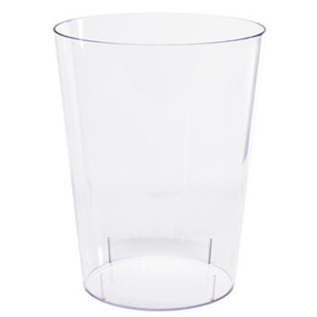 Clear Plastic Cylindrical Candy Container - Large