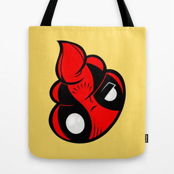 Dead Poop Tote Bag by Artistic Dyslexia