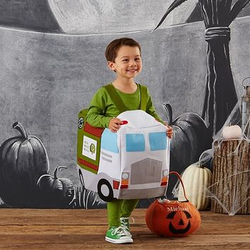 Toddler Recycle Truck Costume