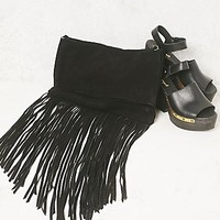 Free People Womens Raquel Fringe Crossbody