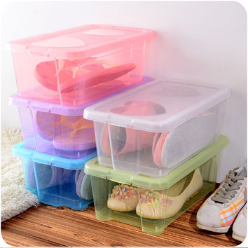 Thicken Shoes Storage Box Transparent Plastic Set [6395700100]