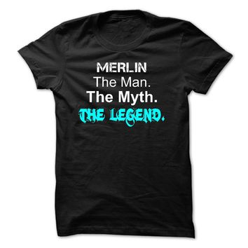 MERLIN - The Man The Myth