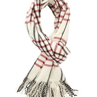 Traditional Plaid Wrap Scarf by Charlotte Russe - Multi