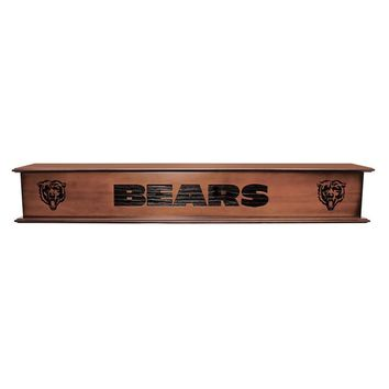 Chicago Bears NFL 60 inch Floating Mantel / Shelve