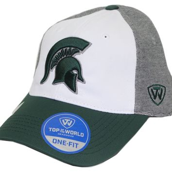 Michigan State Spartans Hustle Stretch Hat By Top Of The World
