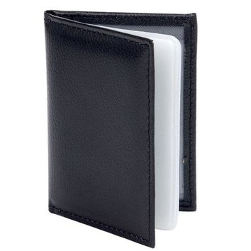 PU Leather ID Card Holder Black Credit Card Wallet New Arrive Credit Card Covers Clip High Quality