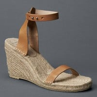 Espadrille thin-strap wedges