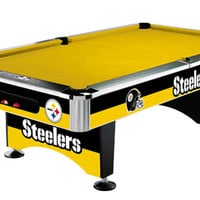 Pitsburgh Steelers Slate Pool Table