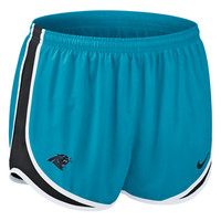 "Panthers Shorts - Nike ""Tempo"" - Women's - Blue"