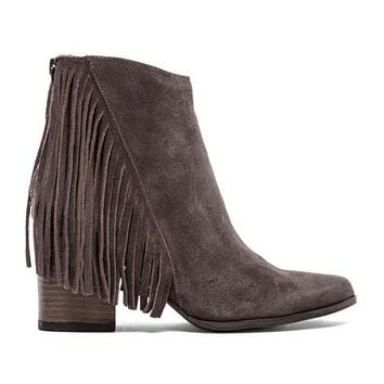 Steve Madden Countryy Bootie in Taupe