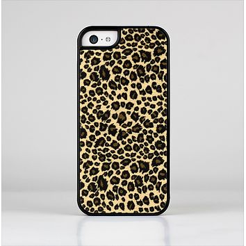 The Small Vector Cheetah Animal Print Skin-Sert Case for the Apple iPhone 5c