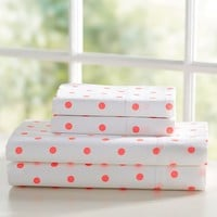 Reverse Dottie Sheet Set