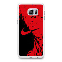 Nike Red and Black Samsung Galaxy S6 Edge Plus Case