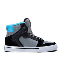 KIDS VAIDER BLACK/WHITE - PAINT DRIP | Official SUPRA Footwear Site