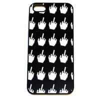 Middle Finger Cursor Iphone Case