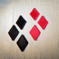 Harley Quinn diamond patch set