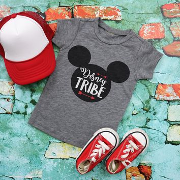 Disney Tribe Kids Graphic Tee