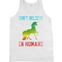 White Tank | Funny Unicorn Shirts