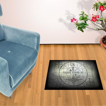 """Fallout Please Stand By 24""""x 36"""" Doormat Welcome Floormat"""