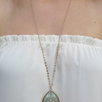 Frill Seeker Necklace