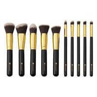 BH Cosmetics Sculpt and Blend 10 Piece Brush Set at Beauty Bay
