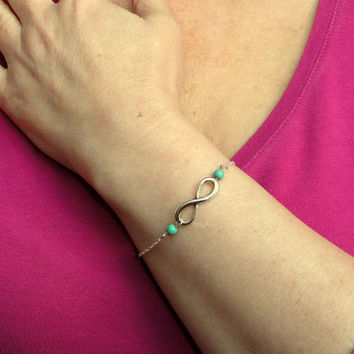 Stylish Shiny Great Deal New Arrival Gift Hot Sale Awesome Accessory Simple Design Turquoise Bracelet [6586376199]