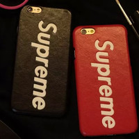 Leather Supreme Case for iPhone