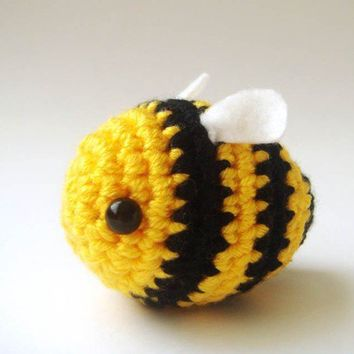 Crochet Bumble Bee by sabahnur on Etsy