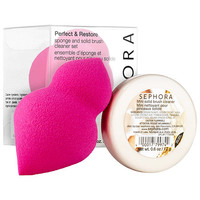 Perfect & Restore Sponge and Solid Brush Cleaner Set - SEPHORA COLLECTION | Sephora