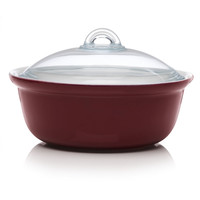 Pyrex Impressions Casserole Round Red 24cm/2.5L