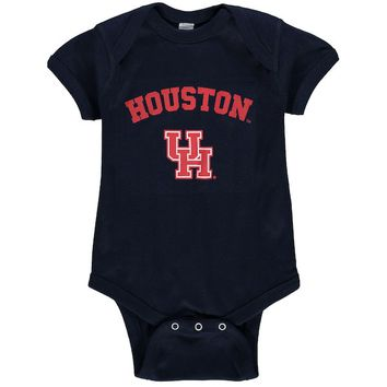 Houston Cougars Newborn & Infant Arch & Logo Bodysuit - Navy