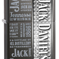 Zippo Jack Daniels Grey dusk Windproof Lighter