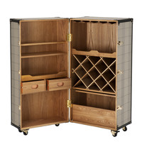 Eichholtz Martini Bianco Wine Cabinet - Brown