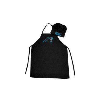 Carolina Panthers NFL Barbeque Apron and Chef's Hat