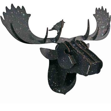 Stellar Moose Puzzle Plaque