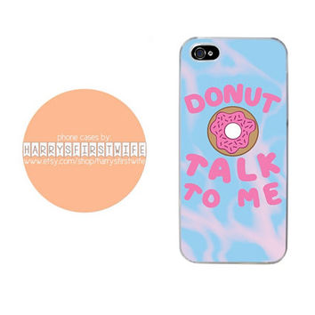 Donut Talk to Me Tie Dye iPhone 4/4s 5/5s/5c/6/6 plus iPod 4/5 & Galaxy S5 Case