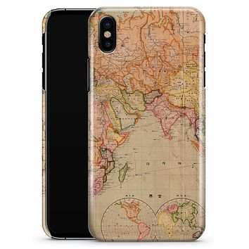 The Western World Map - iPhone X Clipit Case