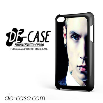 Andy Biersack Black Veil Brides Half Face DEAL-765 Apple Phonecase Cover For Ipod Touch 4