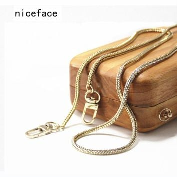 2017 woman fashion handbags accessory chains elegant new wallet accessrroy Snake chain Clutch Chains handle shoulder bag strap