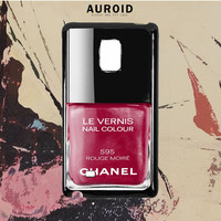 Chanel Nail Polish Rouge Moire Samsung Galaxy Note 5 Case Auroid