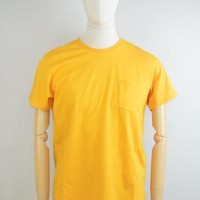 EDWIN AW17 Pocket T-Shirt in Yellow
