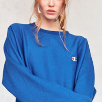 Champion Embroidery round collar sweater thickening sweater(7-color) G