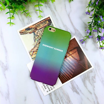 Midnight Summer Colorful iPhone Case